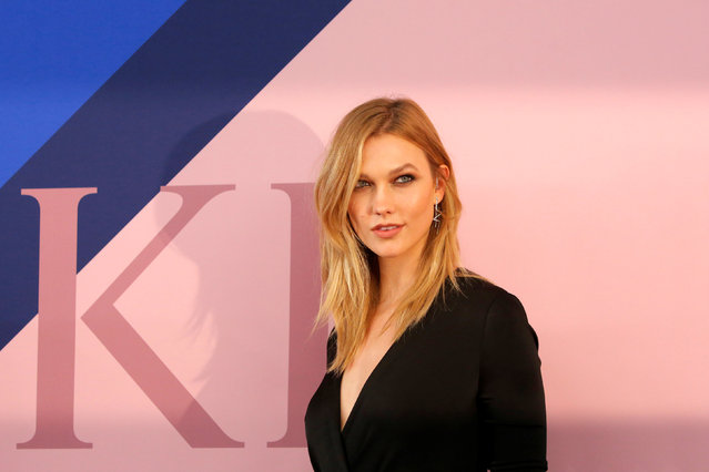 Model Karlie Kloss attends the CFDA Fashion Awards in Manhattan, New York, U.S., June 5, 2017. (Photo by Andrew Kelly/Reuters)