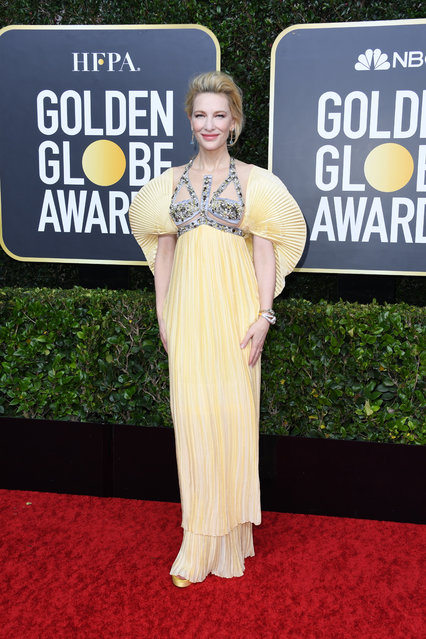 Cate Blanchett attends the 77th Annual Golden Globe Awards at The Beverly Hilton Hotel on January 05, 2020 in Beverly Hills, California. (Photo by Jon Kopaloff/Getty Images)
