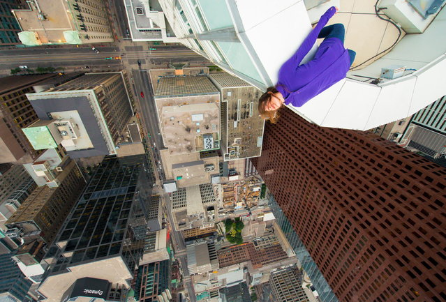 """""""▲/▼"""". (Photo by Roof Topper)"""