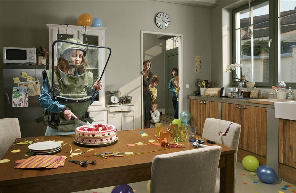 Creative advertisement from Asile Studio
