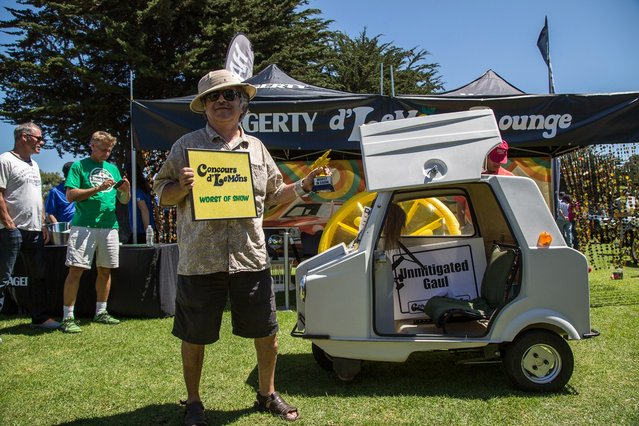 The Acoma Mini Comtesse is the quintessential Lemons champion – dangerous, slow and deeply troubling. (Photo by Robert Kerian/Yahoo Autos)
