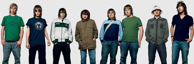Oasis fans. (Photo by James Mollison)