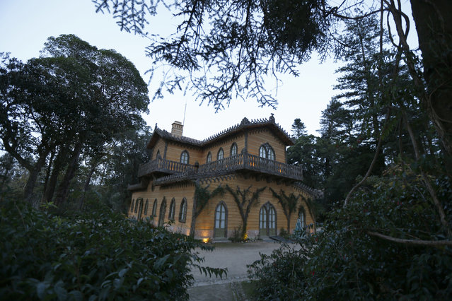 A general view of the Chalet of the Countess of Edla, in Sintra October 21, 2014. (Photo by Rafael Marchante/Reuters)