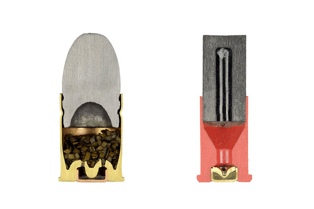 Cross Sections Of Bullets By Sabine Pearlman