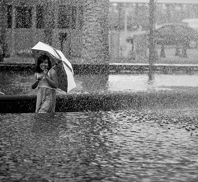 """The downpour"". (Photo by Andy Kennelly)"
