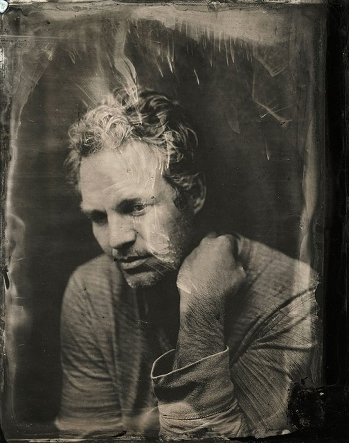 Mark Ruffalo poses for a tintype (wet collodion) portrait at The Collective and Gibson Lounge Powered by CEG, during the 2014 Sundance Film Festival in Park City, Utah. (Photo by Victoria Will/AP Photo/Invision)