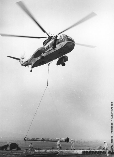 A BEA Sikorsky 61N helicopter