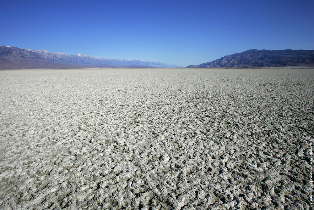 Landscapes Of Owens River And Owens Lake