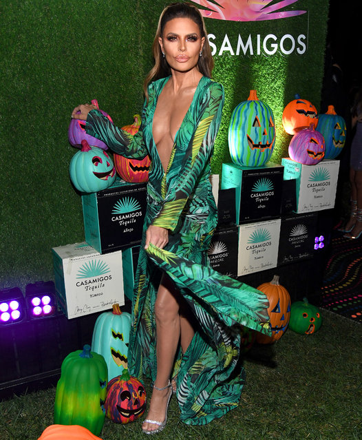 Lisa Rinna attends the 2019 Casamigos Halloween Party on October 25, 2019 at a private residence in Beverly Hills, California. (Photo by Kevin Mazur/Getty Images for Casamigos)