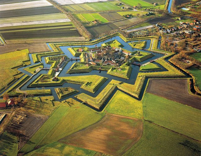 Fort Bourtange In Netherlands