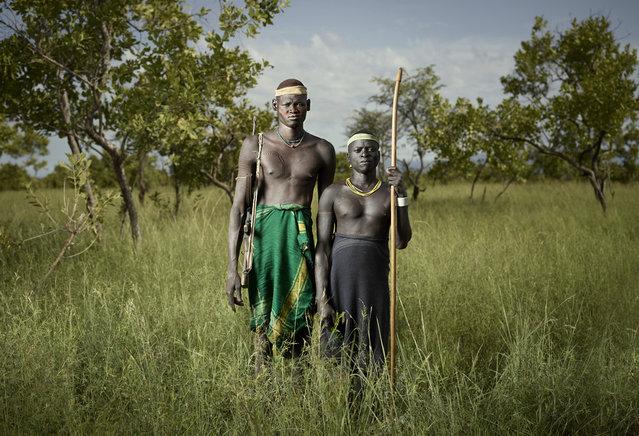 Geyo & Alubuno - Mursi tribe