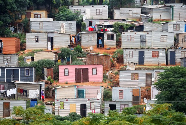 A general view of shacks during a nationwide 21-day lockdown in an attempt to contain the coronavirus disease (COVID-19) outbreak in Umlazi township near Durban, South Africa, March 31, 2020. (Photo by Rogan Ward/Reuters)