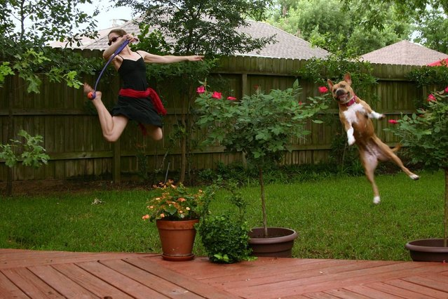 """Jumpology"". ""Might as well jump"". (Photo by Cassondra Louise)"