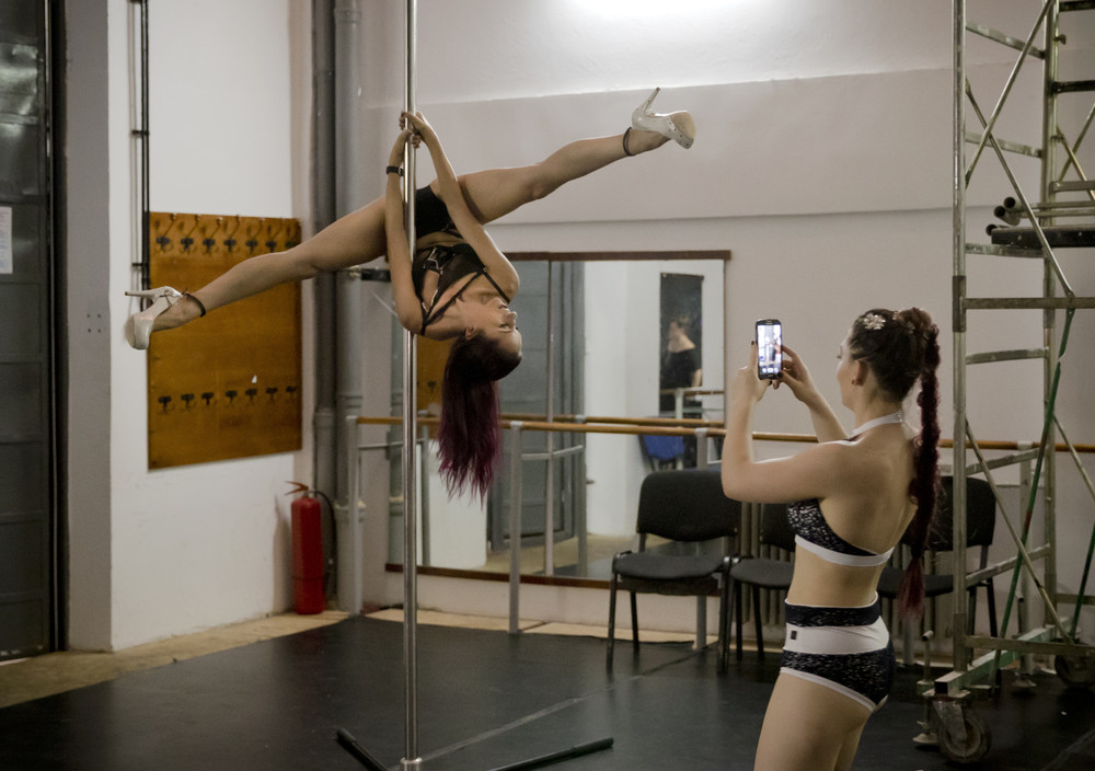 Backstage Romania Miss Pole Dance Contest