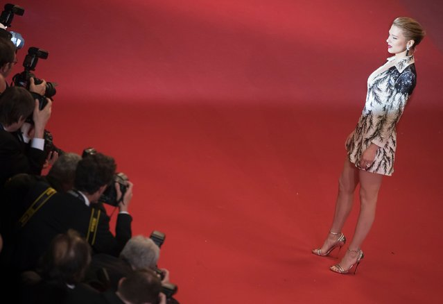 "French actress and Jury Member Lea Seydoux arrives for the screening of ""Cold War¨ during the 71st annual Cannes Film Festival, in Cannes, France, 10 May 2018. The movie is presented in the Official Competition of the festival which runs from 08 to 19 May. (Photo by Ian Langsdon/EPA/EFE/Rex Features/Shutterstock)"