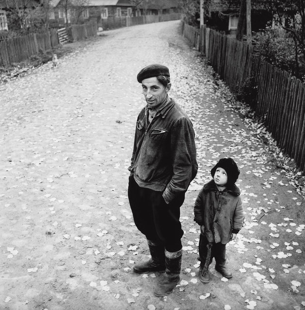 The photographer's work is now featured in a new version of his seminal exhibition, Nostalgia for bare feet, on show at the Lumiere Brothers Centre for Photography in Moscow. It includes previously unseen images taken during the 1950s, a time when Soviet deportations resulted in the exile of tens of thousands of families to forced settlements in the Soviet Union, while thousands more became political prisoners. Here: Village Street, Dzukija, 1969. (Photo by Antanas Sutkus)
