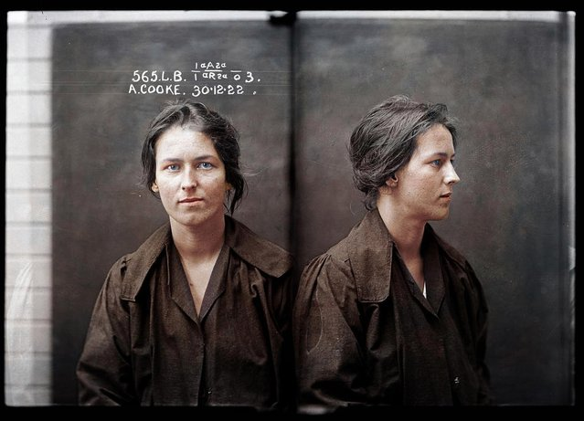 Alice Cooke at the Sydney Women's Reformatory in 1922. By the time she was 24 Alice Cooke had created an impressive number of aliases and at least two husbands, and was convicted of bigamy and theft. (Photo by My Colorful Past/Mediadrumworld)