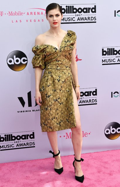 Actress Alexandra Daddario arrives at 2017 Billboard Music Awards at T-Mobile Arena on May 21, 2017 in Las Vegas, Nevada. (Photo by Jim Smeal/Rex Features/Shutterstock)