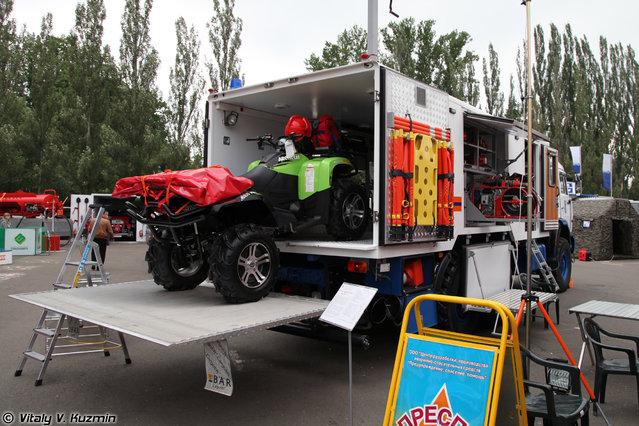 """Emergency vehicle MAVR-588560S """"White eagle-2"""""""