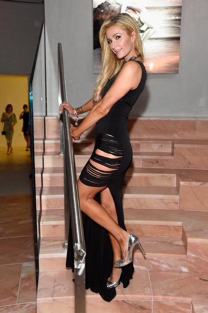 Paris Hilton attends An Evening of Music, Art, Mischief and Performance to benefit Raising Malawi presented by Madonna at Faena Forum on December 2, 2016 in Miami Beach, Florida. (Photo by Kevin Mazur/Getty Images for Bulgari)