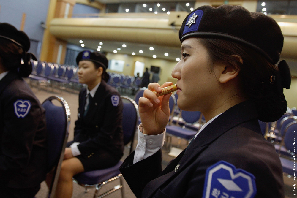 South Korean Female Soldiers