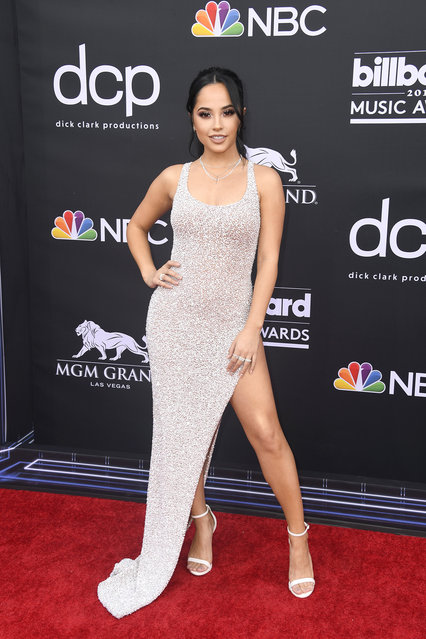 Becky G attends the 2019 Billboard Music Awards at MGM Grand Garden Arena on May 01, 2019 in Las Vegas, Nevada. (Photo by Frazer Harrison/Getty Images)