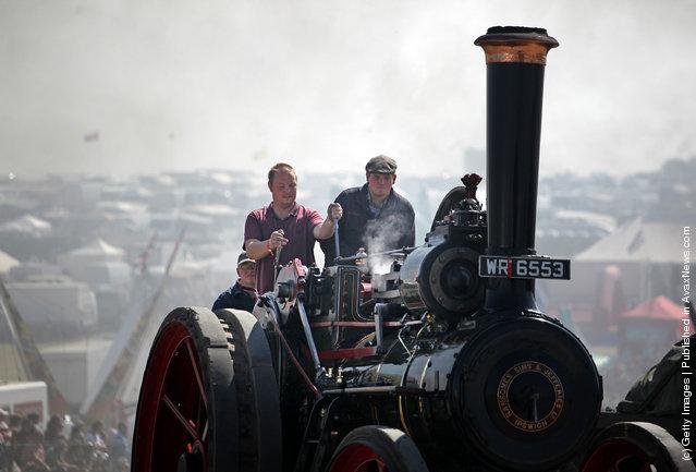 Steam Fair In Blandford