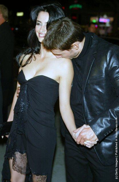 Actors Penelope Cruz and Tom Cruise