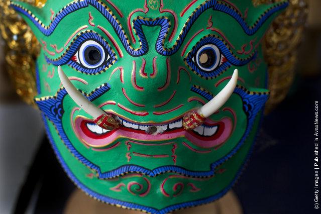Traditional Thai Khon Mask