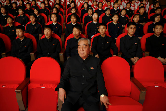 Spectators watch a performance at the Mangyongdae Children's Palace in Pyongyang, North Korea May 5, 2016. (Photo by Damir Sagolj/Reuters)