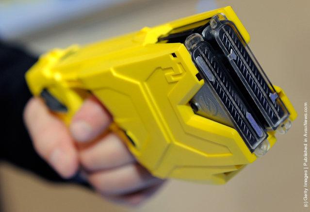 Taser International's X2 two-shot Taser for law enforcement