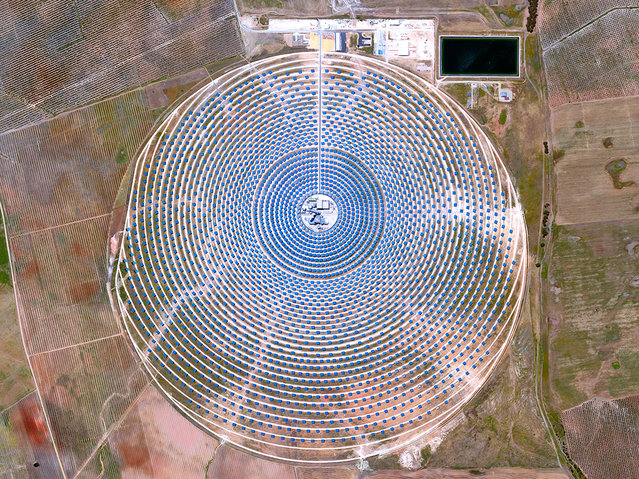 Gemasolar Thermosolar Plant In Spain