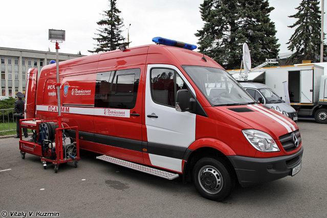 Emergency vehicle PSA-MM on MB Sprinter 515CDI chassis