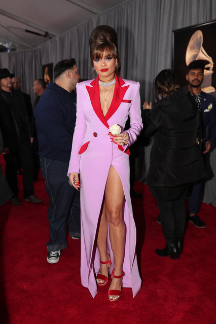 Recording artist Andra Day attends the 60th Annual GRAMMY Awards at Madison Square Garden on January 28, 2018 in New York City. (Photo by Christopher Polk/Getty Images for NARAS)