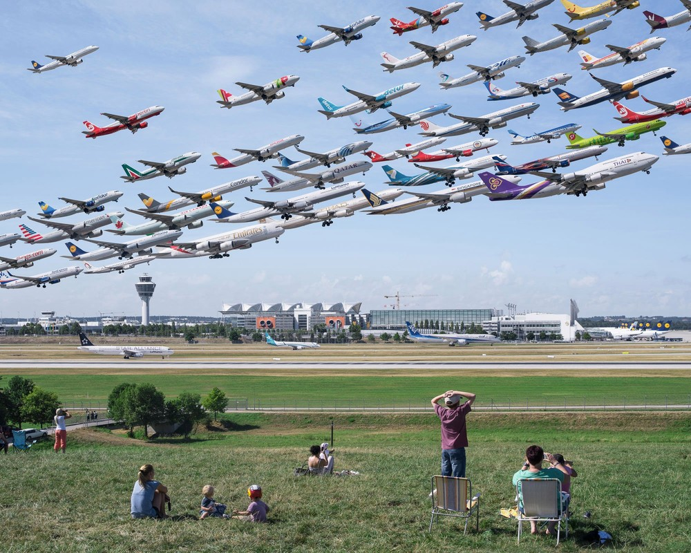 """""""Airportaits"""" by Mike Kelley"""