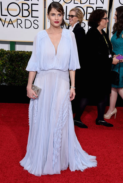 Actress Amanda Peet attends the 72nd Annual Golden Globe Awards at The Beverly Hilton Hotel on January 11, 2015 in Beverly Hills, California. (Photo by Steve Granitz/WireImage)