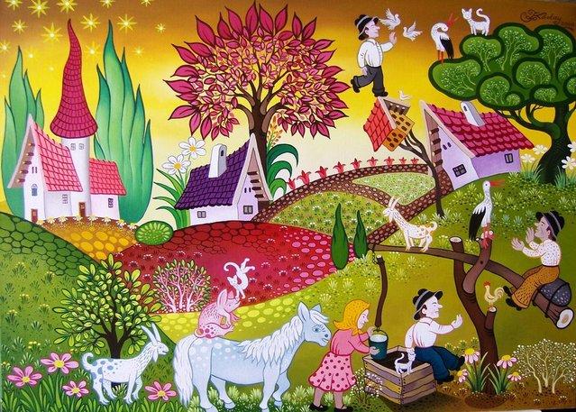 Painting By Koday Laszlo