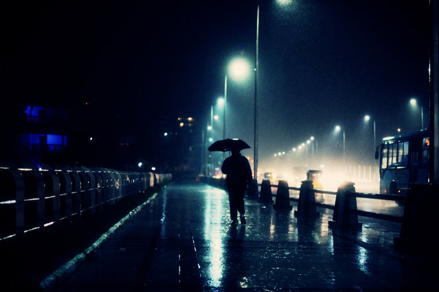 """The Rain Man!"" (Photo by Vinoth Chandar)"