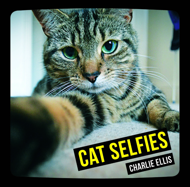 "If Kim Kardashian was a feline shed be purr-fect for this new book which features a collection the worlds best cat ""selfies"". The furry frames have been compiled by cat owner Charlie Ellis who has scoured the globe for the perfect puss pictures. In his book ""Cat Selfies"" moggies try their hand at the craze most of their humans have become addicted to posting on social media.  And it turns out cats might be better at taking photos than their owners with a variety of poses captioned in the book. (Photo by Charlie Ellis/Caters News)"