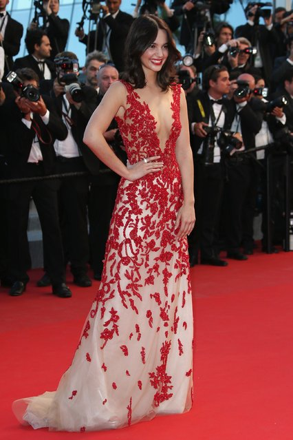 "Laetitia Guarino attends the Premiere of ""The Sea Of Trees"" during the 68th annual Cannes Film Festival on May 16, 2015 in Cannes, (Photo by Danny E. Martindale/Getty Images )"