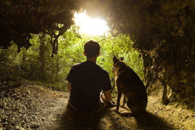"""Man's best friend"". (Photo by Toby Pickard/ESRC)"