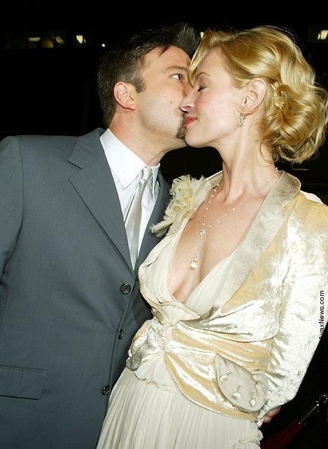 Actor Ben Affleck and actress Uma Thurman