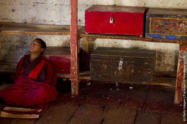 Monastic Life in Thimhu