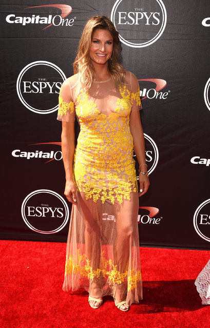 Ski Racer Julia Mancuso attends The 2015 ESPYS at Microsoft Theater on July 15, 2015 in Los Angeles, California. (Photo by Jason Merritt/Getty Images)