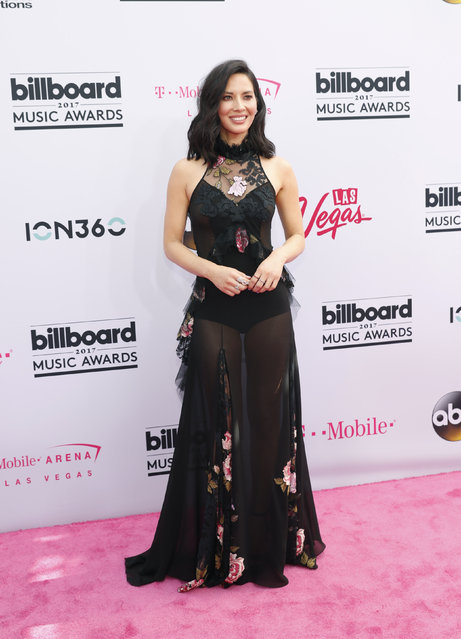 Actress Olivia Munn arrives at the 2017 Billboard Music Awards at T-Mobile Arena on May 21, 2017 in Las Vegas, Nevada. (Photo by Steve Marcus/Reuters)