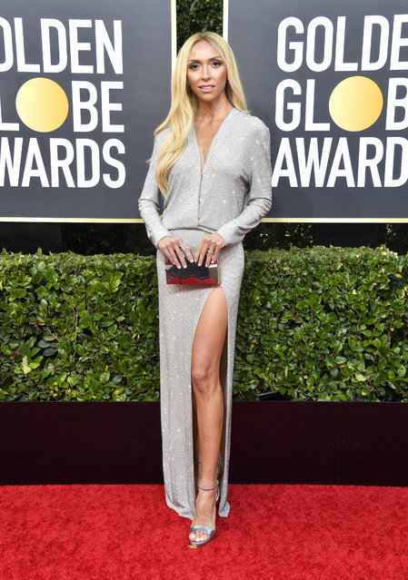 Giuliana Rancic attends the 77th Annual Golden Globe Awards at The Beverly Hilton Hotel on January 05, 2020 in Beverly Hills, California. (Photo by Frazer Harrison/Getty Images)