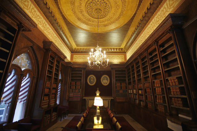 A general view of the library at Monserrate Palace in Sintra October 7, 2014. (Photo by Rafael Marchante/Reuters)