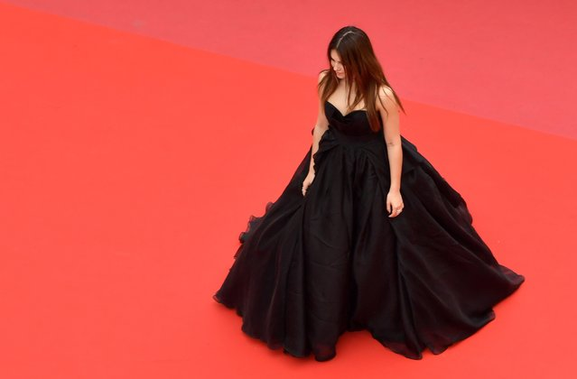 "Thylane Blondeau attends the screening of ""Sorry Angel (Plaire, Aimer Et Courir Vite)"" during the 71st annual Cannes Film Festival at Palais des Festivals on May 10, 2018 in Cannes, France. (Photo by Emma Mcintyre/EPA/EFE/Rex Features/Shutterstock)"
