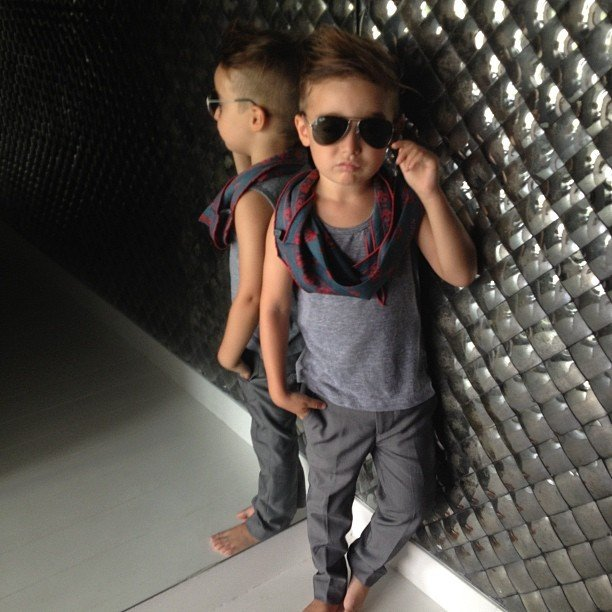 Alonso Mateo – Baby Fashion Icon Part 2
