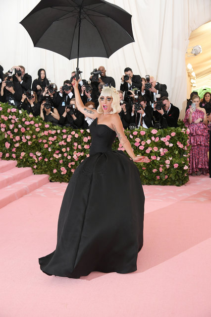Lady Gaga attends The 2019 Met Gala Celebrating Camp: Notes on Fashion at Metropolitan Museum of Art on May 06, 2019 in New York City. (Photo by Neilson Barnard/Getty Images)